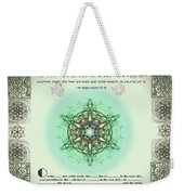 tree of life ketubah-Reformed and Interfaith version Weekender Tote Bag