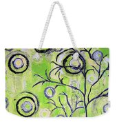 Tree Of Life Spring Abstract Tree Painting  Weekender Tote Bag