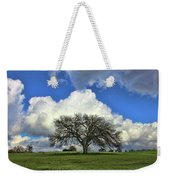 Tree Of Life Style Oak Tree And Coluds Weekender Tote Bag