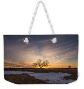 Tree Of Light  Weekender Tote Bag