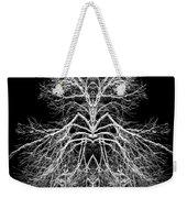 Tree Of Nature Evolving Symmetry Pattern Weekender Tote Bag