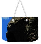 Tree On A Cliff At Battleship Rock New Mexico - 003 Weekender Tote Bag