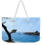 Tree On A Coastline Weekender Tote Bag
