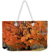 Tree On Fire Weekender Tote Bag
