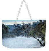 Tree Over Gasconade River Weekender Tote Bag