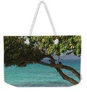 Tree Over Sapphire Beach Weekender Tote Bag