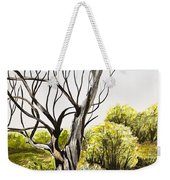 Tree Painting Weekender Tote Bag
