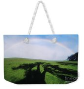 Tree Shadow Weekender Tote Bag
