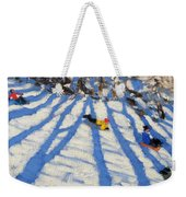 Tree Shadows Morzine Weekender Tote Bag