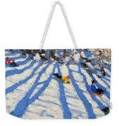 Tree Shadows Morzine Weekender Tote Bag