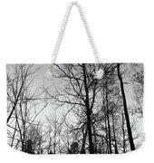 Tree Silhouette II Bw Weekender Tote Bag