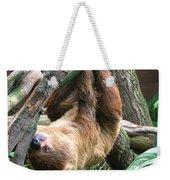 Tree Sloth Weekender Tote Bag