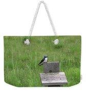 Tree Swallow 1 Weekender Tote Bag