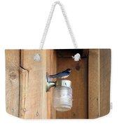 Tree Swallow 2 Weekender Tote Bag