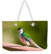 Tree Swallow Weekender Tote Bag