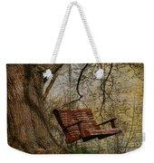Tree Swing By The Lake Weekender Tote Bag
