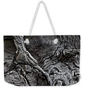 Tree Trunk Abstract Weekender Tote Bag