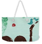 Tree With Blue Birds Weekender Tote Bag