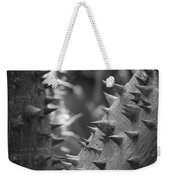 Tree With Spikes And Thorns Weekender Tote Bag