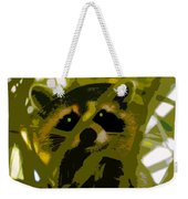 Treed Raccoon Weekender Tote Bag