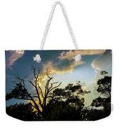 Treeline Silhouette Weekender Tote Bag