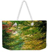 Trees Along The Flumes Trail Weekender Tote Bag