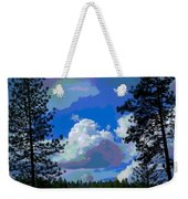 Trees And A Cloud For Crying Out Loud Weekender Tote Bag
