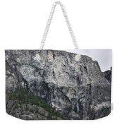 Trees And Flat Peak Weekender Tote Bag