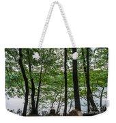 Trees At Lake Schlachtensee Weekender Tote Bag