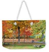 Trees Begins Autumn Color Weekender Tote Bag
