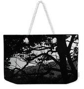 Trees Black And White - San Salvador Weekender Tote Bag