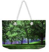 Trees By A Pond Weekender Tote Bag