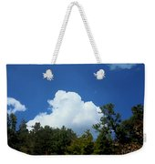 Trees, Clouds, And Sky Weekender Tote Bag
