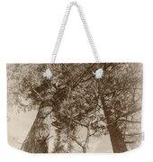 Trees Colliding Weekender Tote Bag