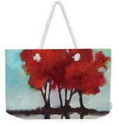 Trees For Alice Weekender Tote Bag by Michelle Abrams