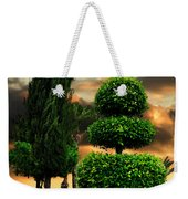 Trees In A Park Of Limassol City Sea Front In Cyprus Weekender Tote Bag