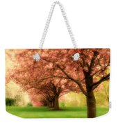 Trees In A Row Weekender Tote Bag