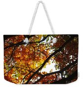 Trees In Fall Fashion Weekender Tote Bag