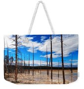 Trees In The Midway Geyser Basin Weekender Tote Bag
