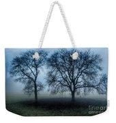 Trees In The Mist Weekender Tote Bag