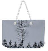 Trees In The Snow Weekender Tote Bag