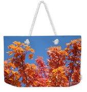 Trees Landscape Art Print Fall Tree Leaves Baslee Troutman Weekender Tote Bag