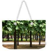 Trees Of Tuilieres Weekender Tote Bag