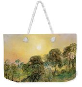 Trees On Hampstead Heath At Sunset Weekender Tote Bag