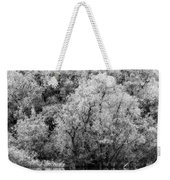 Trees On The River Weekender Tote Bag