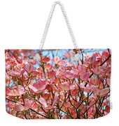 Trees Pink Spring Dogwood Flowers Baslee Troutman Weekender Tote Bag