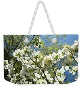 Trees Sunlit White Dogwood Art Print Botanical Baslee Troutman Weekender Tote Bag