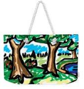 Trees W Water Ddl Weekender Tote Bag