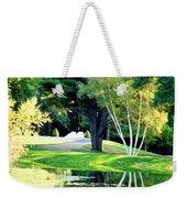 Trees With Mirror Lake 2 Weekender Tote Bag