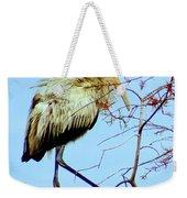 Treetop Stork Weekender Tote Bag